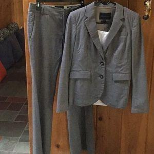 Banana republic Italian wool gray suit